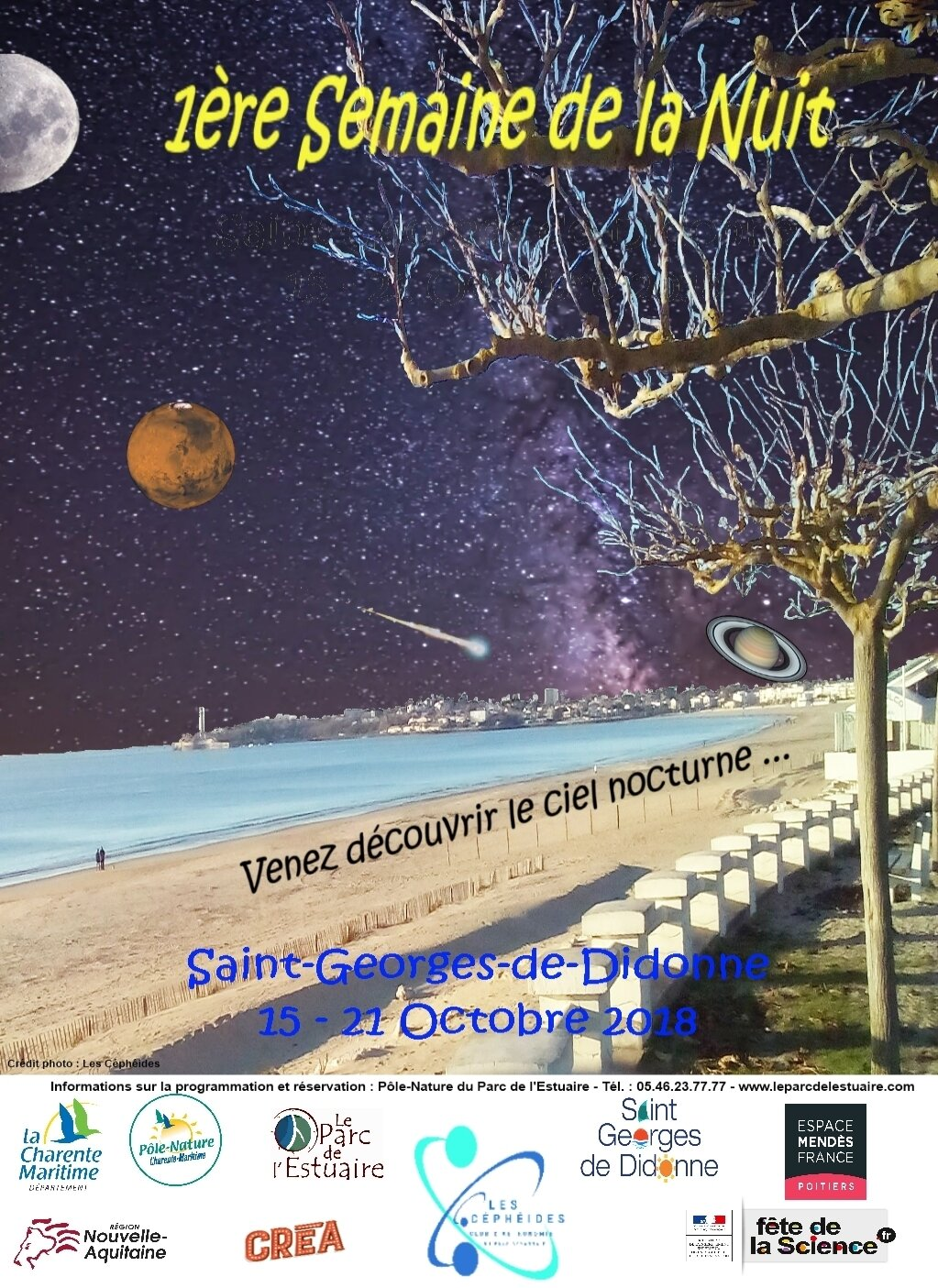 Vendredi 19 Octobre 2018 - 21h - Saint Georges de Didonne
