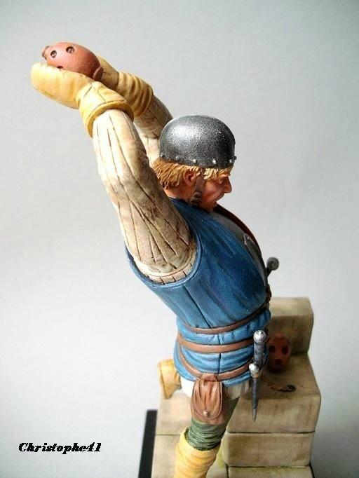 homme d'arme Anglais 15ème siècle - PICT6359