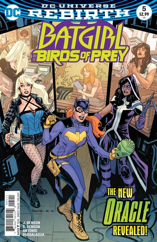 rebirth batgirl and the birds of prey 05