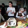 Club pâtisserie avec Arzu 27/03/2014