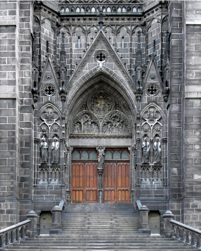 clermont cathedrale cler 2009