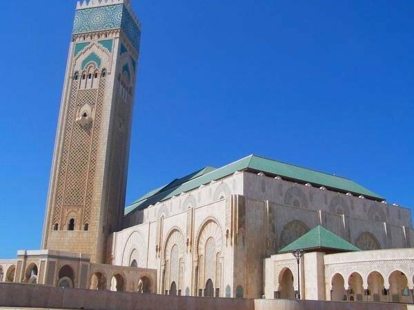 Mosquée Casablanca Hassan 2 vue extérieure