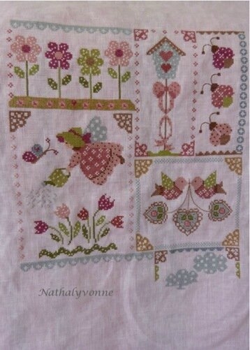SAL Spring in quilt 6