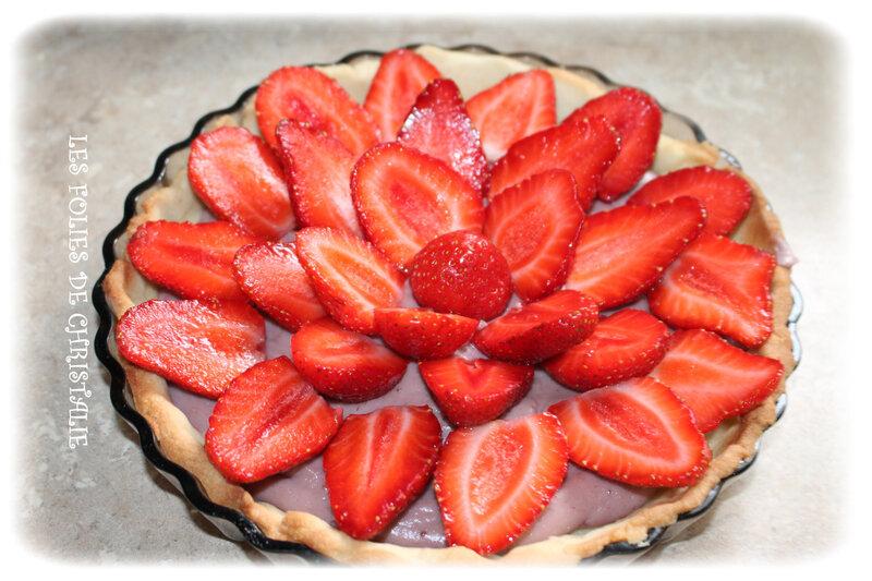 Tarte aux fraises 4