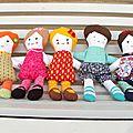 Comment gagner une poupée en tissus?
