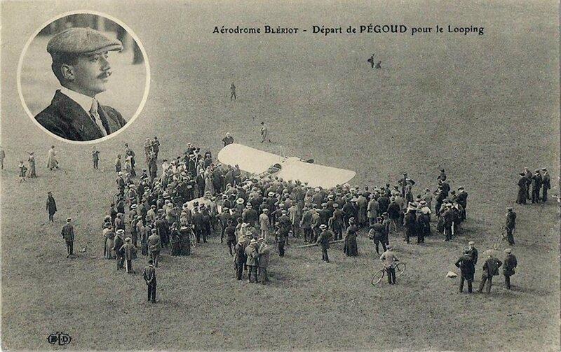 CPA Aérodrome Blériot Pégoud