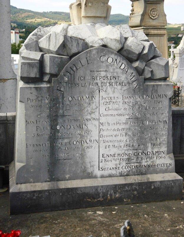 tombe Condamin 20 août 2015 (8)