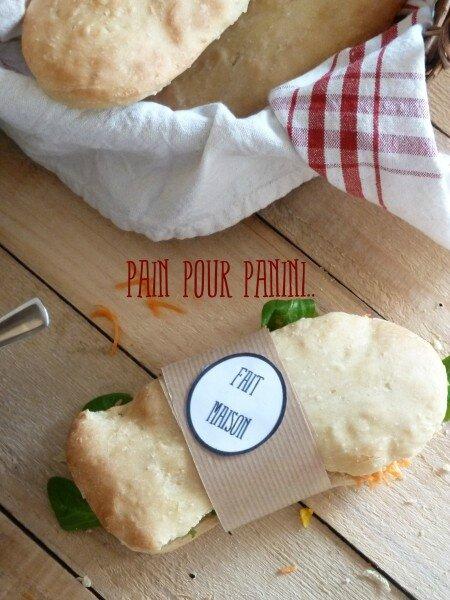 Pain panini de Gaëlle