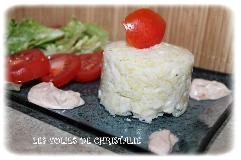 Terrine courgette poulet 5