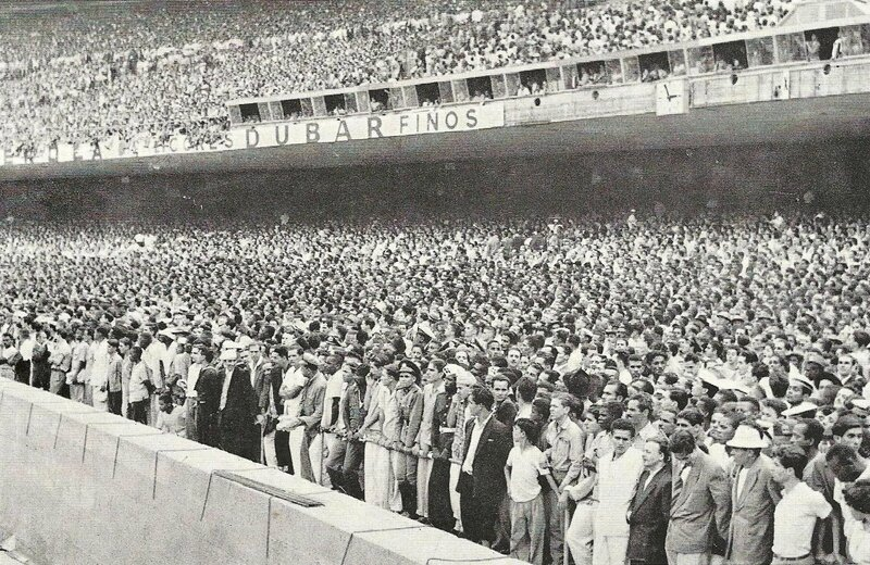 1950 Stade Maracana Intérieur