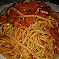 Spaghetti de enzo aux carottes comme ingrédient principal, 2ème version