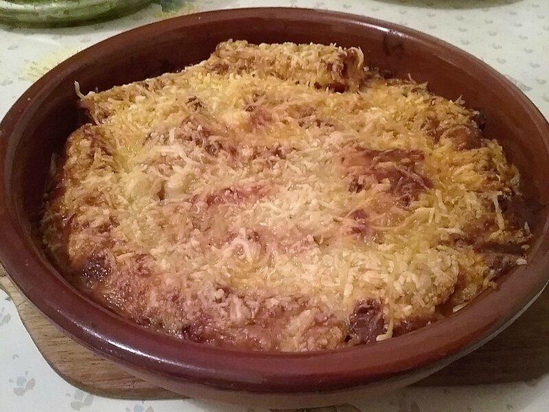 Cannelloni farcis au thon (2)