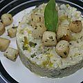 Risotto aux poireaux et noix de saint-jacques