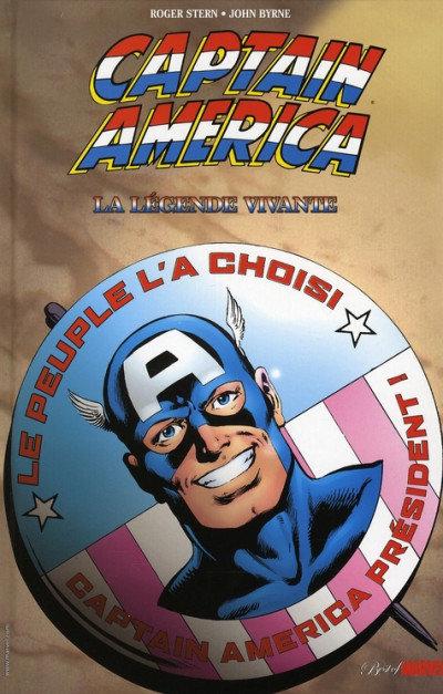best of marvel captain america la légende vivante