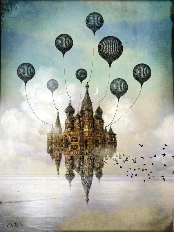 Catrin Welz-Stein - German Surrealist Graphic Designer - Tutt'Art@ (44)