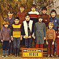 ECOLE DU VIALA 1981-1982