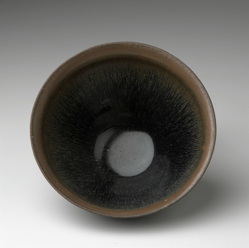 Tea Bowl (yan-kou wan), Jian ware, Song dynasty, 12th-13th century