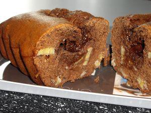 cake choco banane