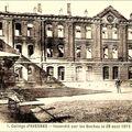 AVESNES-Collège incendié
