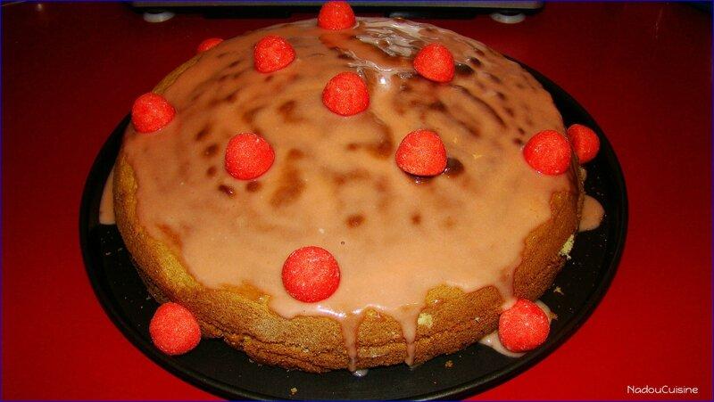 génoise fraises tagada 1