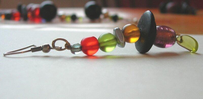 multicolore pendentif