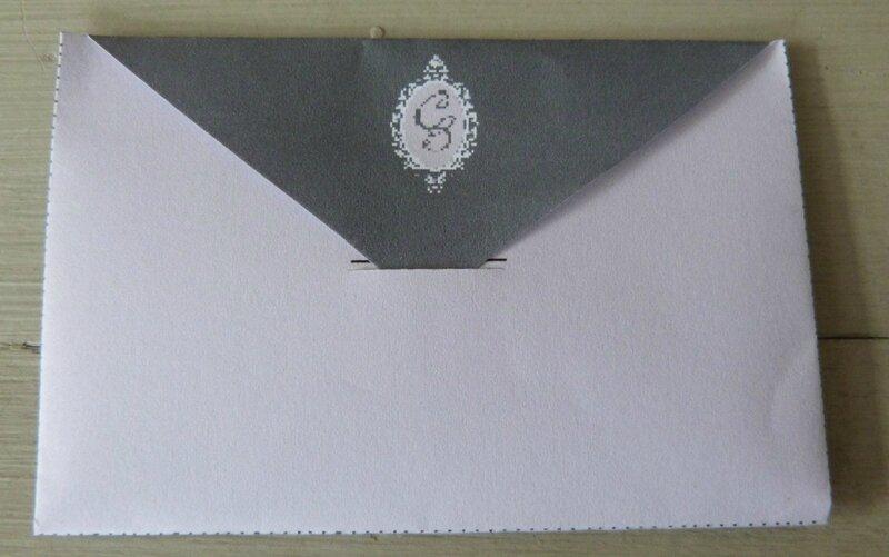 Enveloppe Coeur - Le Cheval Blanc (4)
