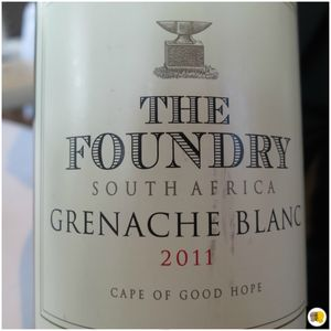 The Foundry South Africa 2011 Grenache blanc