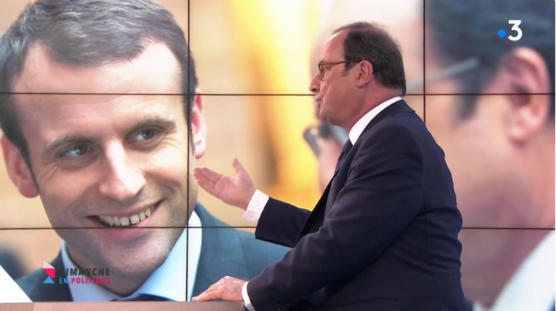 MACRON HOLLANDE MEDIA DIXIT WORLD