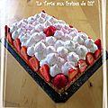 La tarte aux fraises de lili