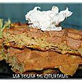 Gaufres butternut sarrasin ( sans gluten)