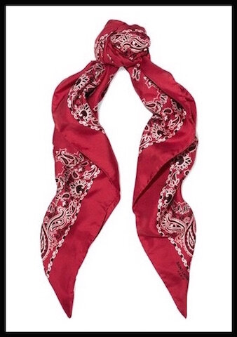 saint laurent carre soie bandana 3
