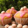 Les vrais muffins de filles au yaourt et à la noix de coco