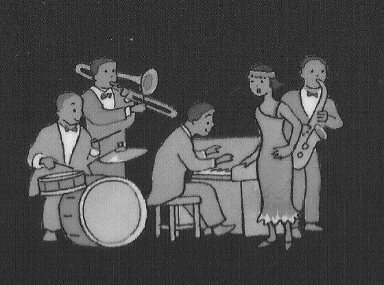 un big band