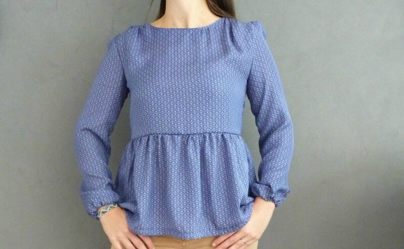 blouse dressing chic Kokechic 2