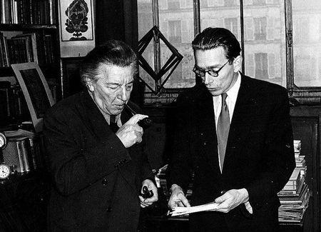 André Breton & Radovan Ivsic