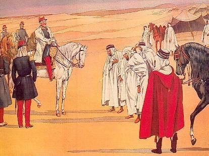 Algérie, 1847 reddition de l'Émir Abdelkader au Duc d'Aumale