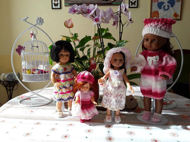 Anaïs , Ruby, Anna, Kaly sont en beauté