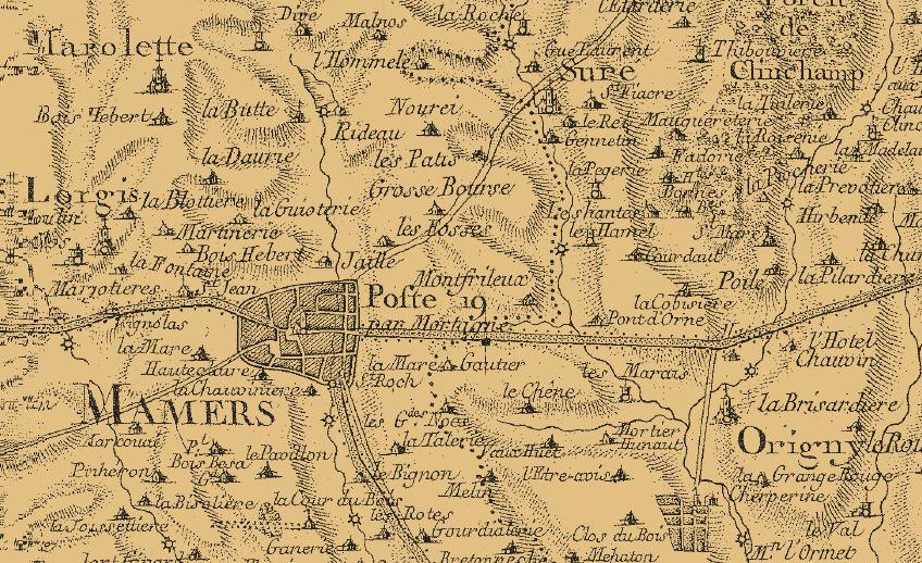 Le 11 octobre 1790 à Mamers : délimitation des districts de Mamers et Bellême.