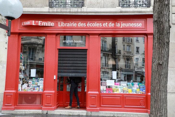 Redémarrage du secteur du livre en France