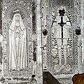 4_église St Sixte_Chapelle Rainsouin_dalles funéraires 1507 et 1526