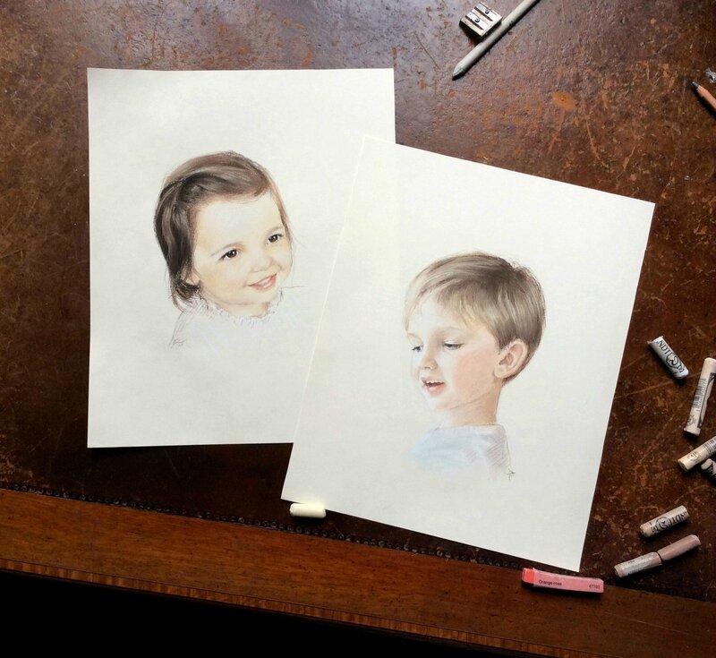 15-10 portraits pastel