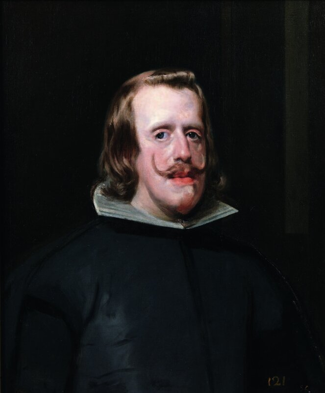 Diego Velázquez, Portrait de Philippe IV, vers 1654