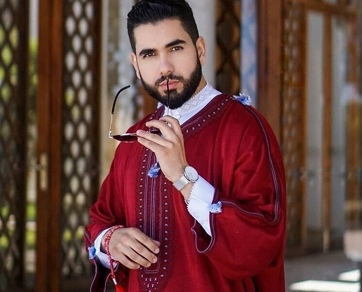Gandoura marocaine 2019 hommes