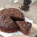Gâteau au café et au chocolat, sans gluten
