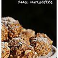 Bouchées marocaines aux noisettes