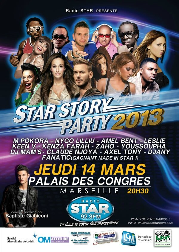 Star Story Party Marseille 2013