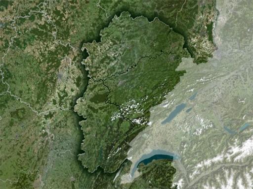 Franche-Comté satellite