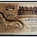 Blois - le chateau - l'emblème d'Anne de Bretagne
