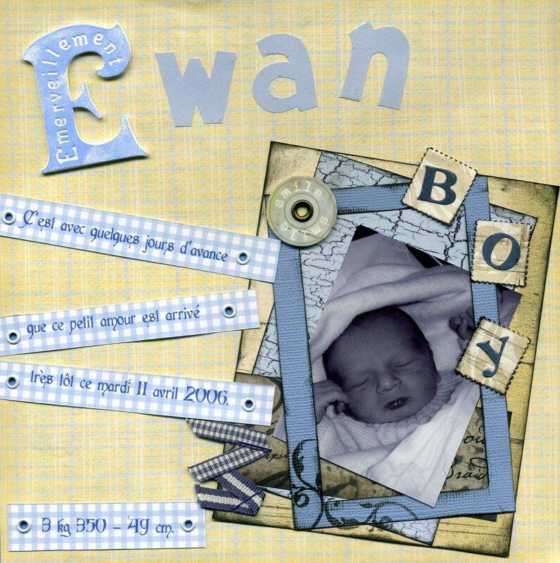 Ewan est né