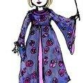 Robe de princesse pour carnaval